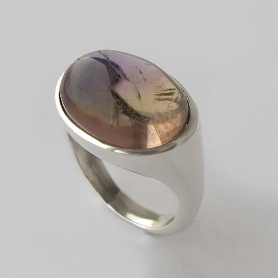Кольцо с аметрином, арт. КОВ312
