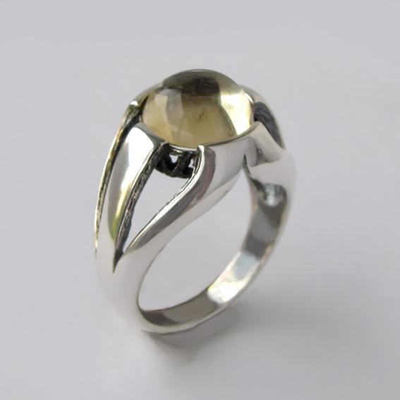 Кольцо с цитрином, арт. 5Л3