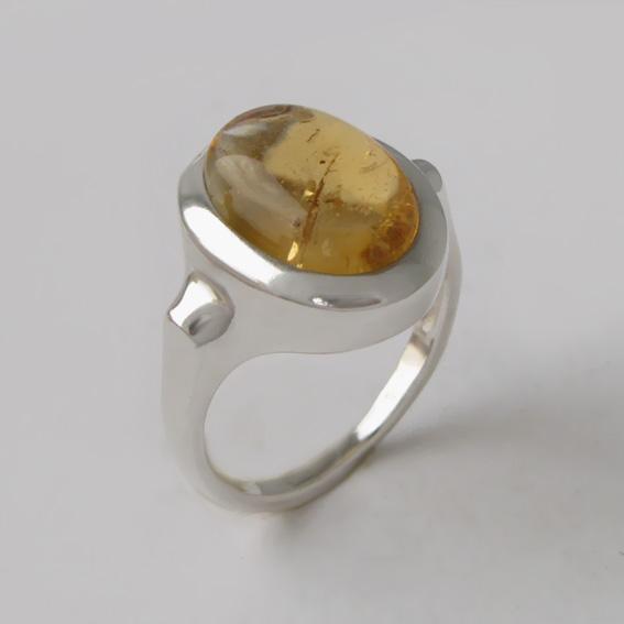 Кольцо с цитрином, арт. ЗЕ310