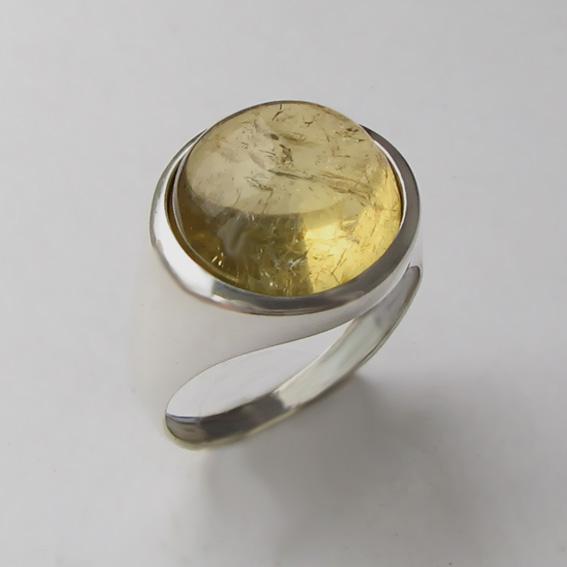 Кольцо с цитрином, арт. НКН313