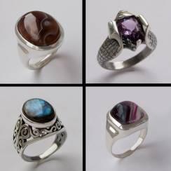 Серебряные кольца мужские