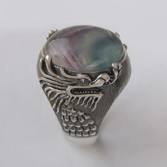 Кольцо с флюоритом, арт. ЕСФ315