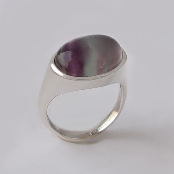 Кольцо с флюоритом, арт.КОВ312