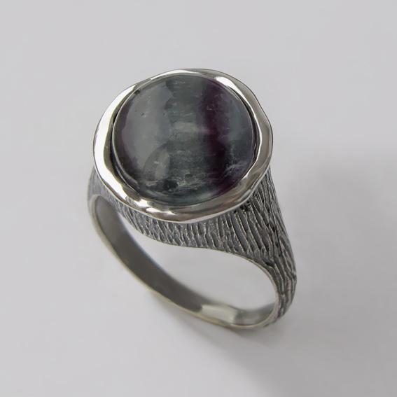 Кольцо с флюоритом, арт.ПЕ3Н