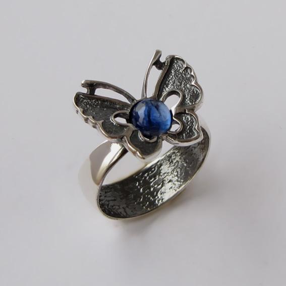 Кольцо с кианитом, арт.БЧ3