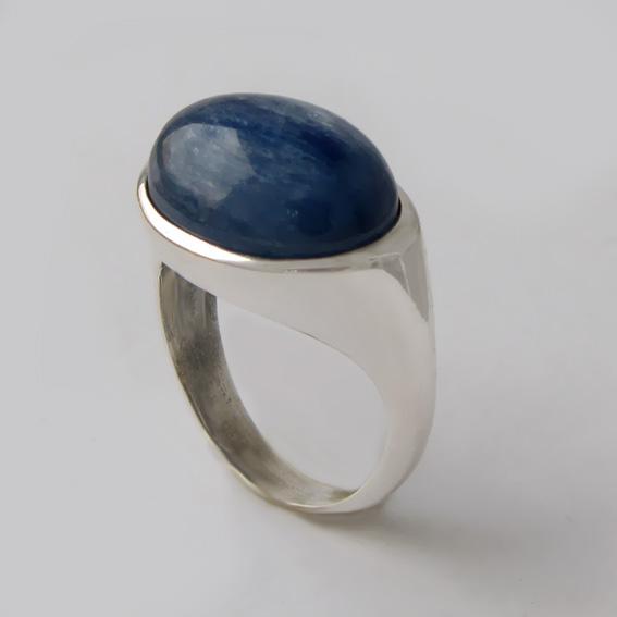 Кольцо с кианитом, арт.КОВ312