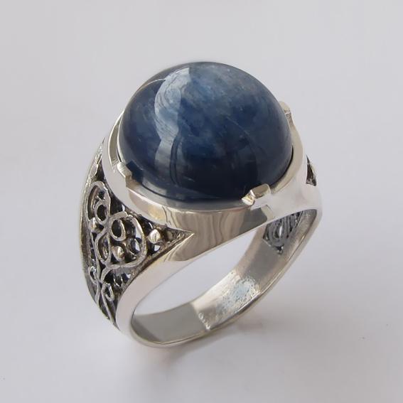 Кольцо с кианитом, арт.ПЕР315