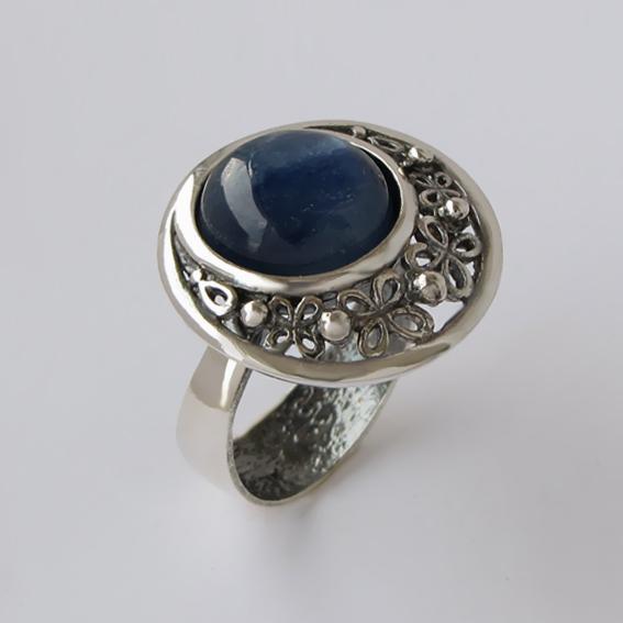 Кольцо с кианитом, арт.УЗ312