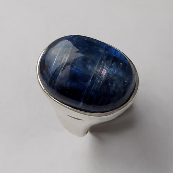 Кольцо с кианитом, арт. ОВН315Х