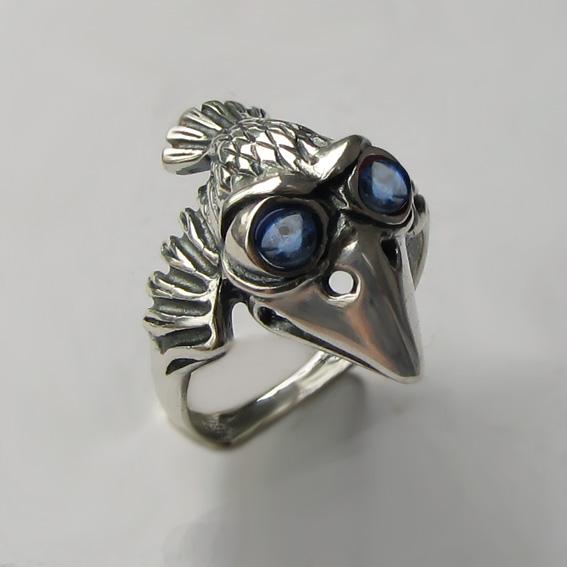 Кольцо с кианитом, арт.  ВО3