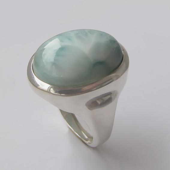 Кольцо с ларимаром, арт. ОВН315