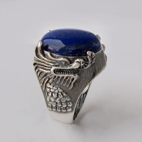 Кольцо с лазуритом, арт. ЕСФ315