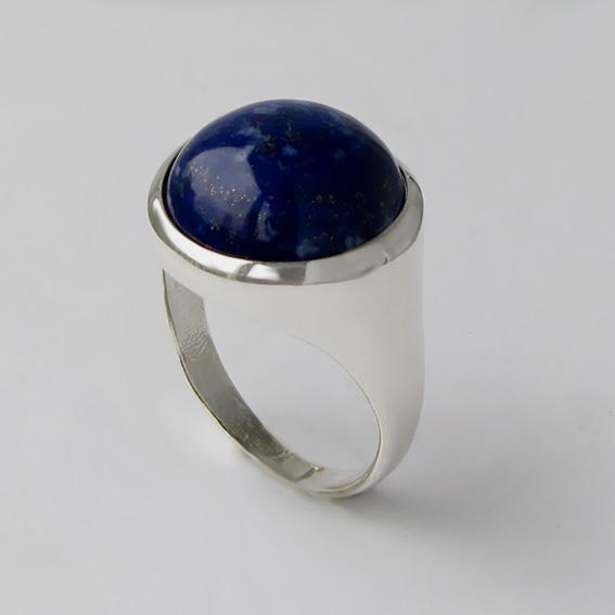Кольцо с лазуритом, арт. НКН315