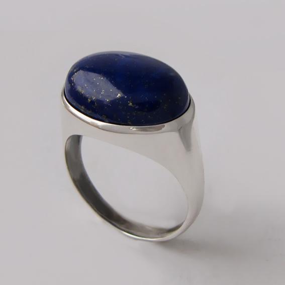 Кольцо с лазуритом, арт. ВОВ313