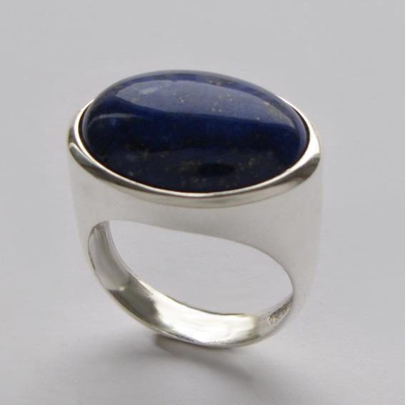 Кольцо с лазуритом, арт. ВОВ315