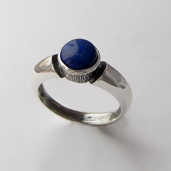 Кольцо с лазуритом, арт. ПФ36