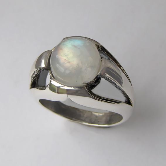 Кольцо с лунным камнем, арт. 5Л3