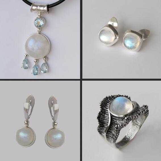 Комплекты с лунным камнем