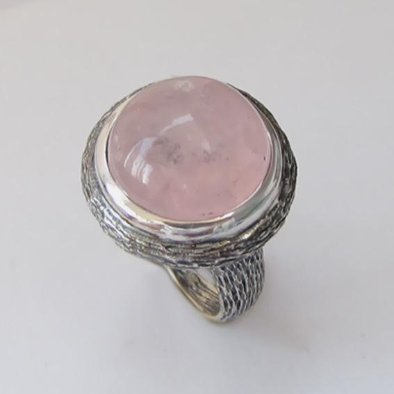Кольцо с морганитом, арт. ГЧ315