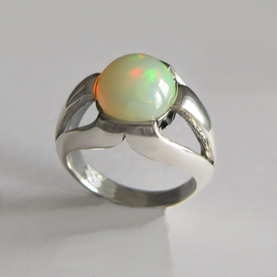 Кольцо с опалом, арт. 5Л3