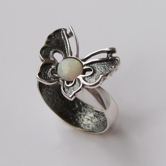Кольцо с опалом, арт.БЧ3