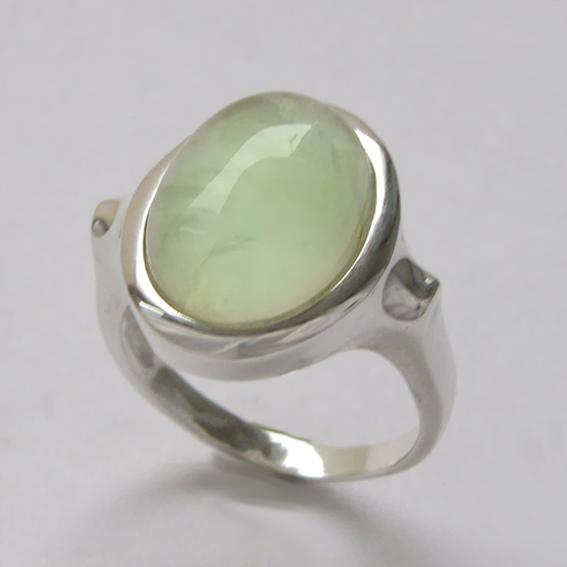 Кольцо с пренитом, арт.ЗЕ312