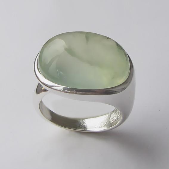 Кольцо с пренитом, арт. ВОВБ313