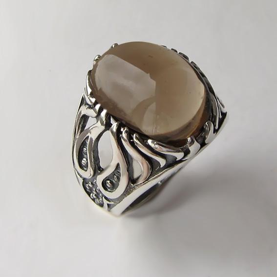 Кольцо с раухтопазом, арт. ОГ3