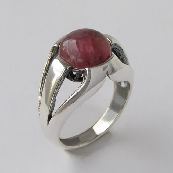 Кольцо с турмалином розовым, арт. 5Л3