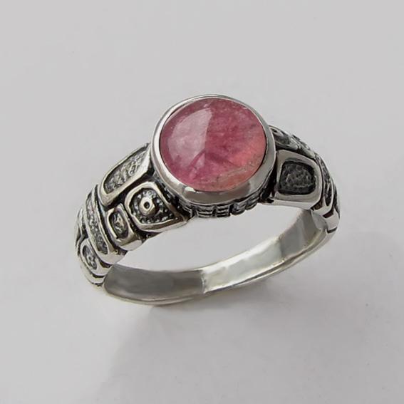 Кольцо с турмалином розовым, арт. ГРИК3