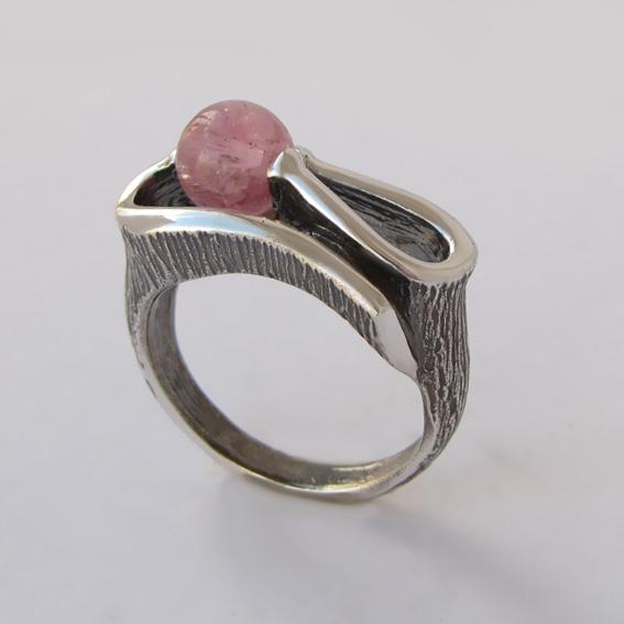 Кольцо с турмалином, арт. ВОС3