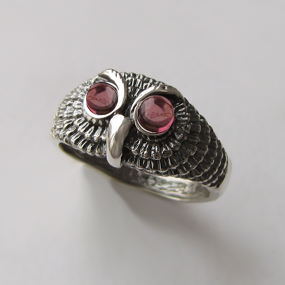 Кольцо серебряное с турмалином, арт. ФИЛ3М