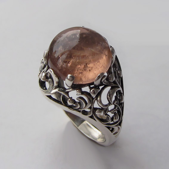 Кольцо с турмалином, арт. КРА3