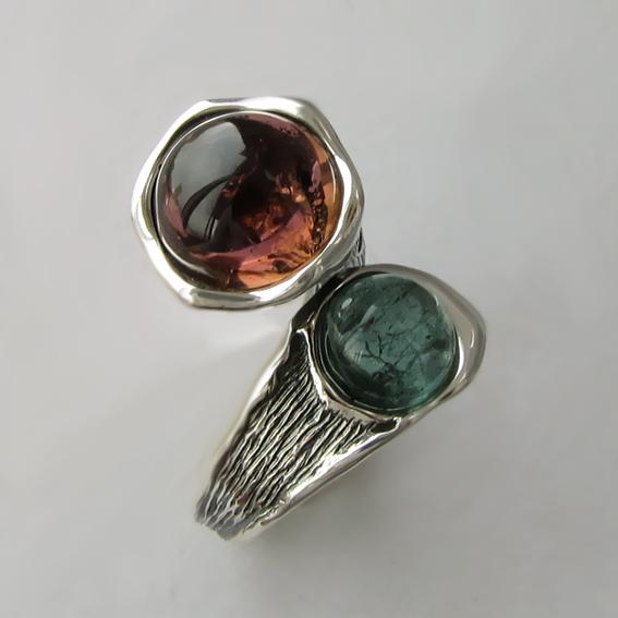 Кольцо с турмалином, арт. Ш3