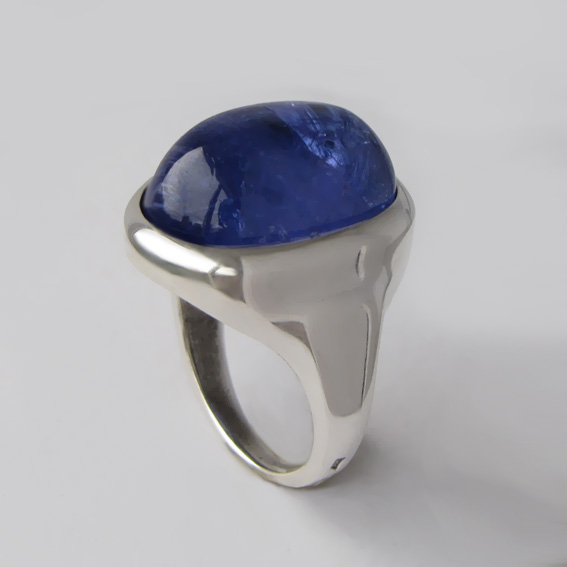 Кольцо с танзанитом, арт. ОВН315