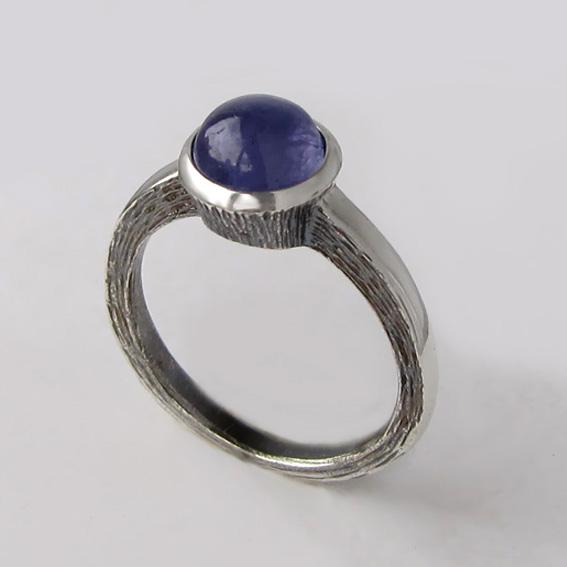 Кольцо с танзанитом, арт.ПФ38