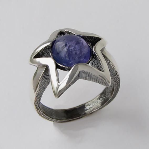 Кольцо с танзанитом, арт. ЗВ3