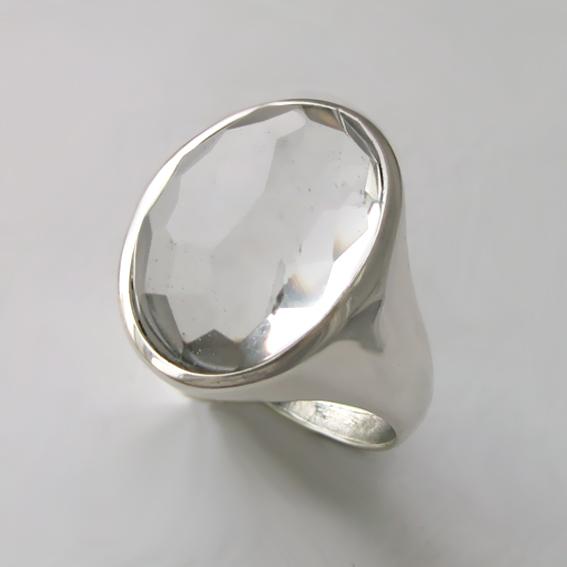 Кольцо с горным хрусталем, арт. ОВН313