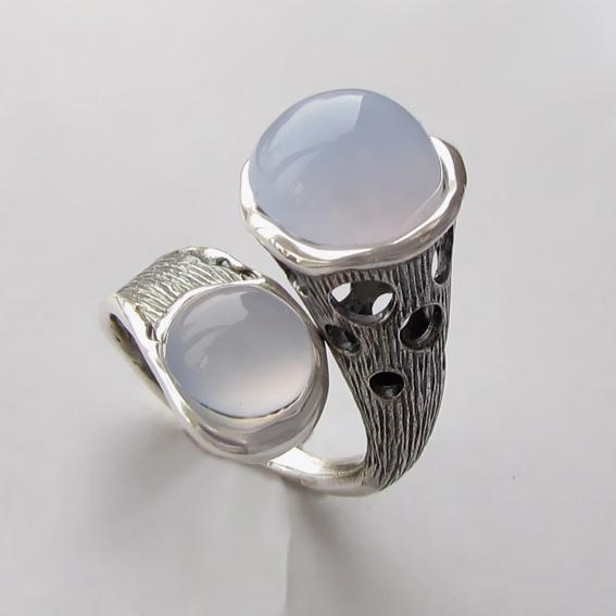 Кольцо с халцедоном, арт. Ш3