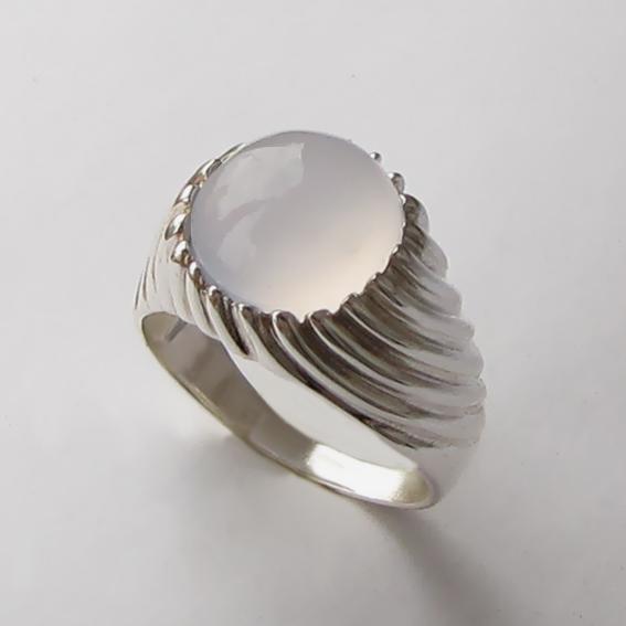 Кольцо с халцедоном, арт. ЭТК3