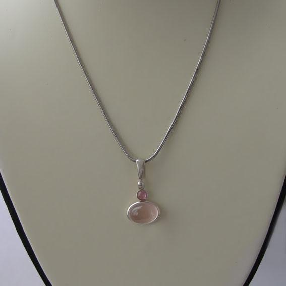 Цепочка серебряная снейк 45 см., толщина-1.5 мм.