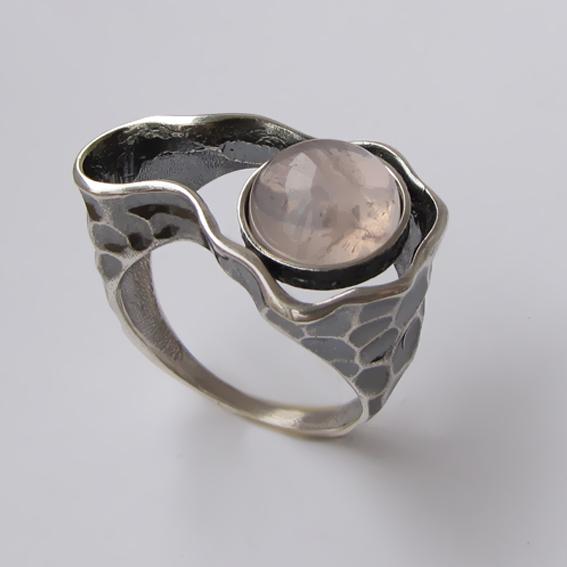 Кольцо с кварцем, арт.СДН3