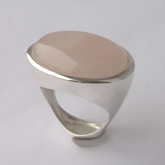 Кольцо с кварцем, арт.ЭСО3