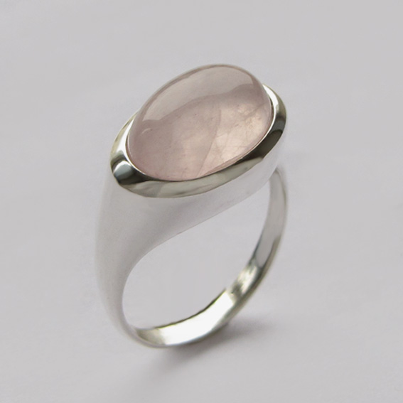 Кольцо с кварцем, арт.КОВ310