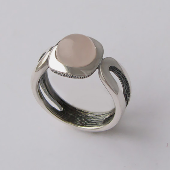 Кольцо с кварцем, арт.ЛСП3