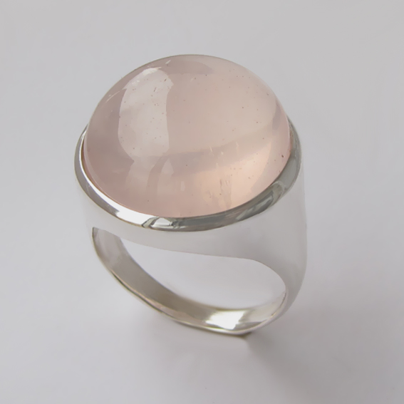 Серебряное кольцо с кварцем, арт.НКН318