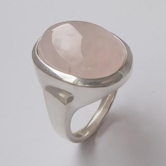 Кольцо с кварцем, арт.ОВН315