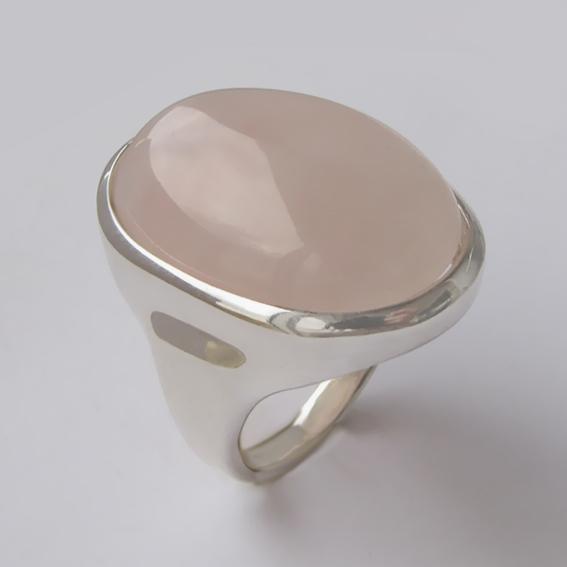 Кольцо с кварцем, арт.ОВН318