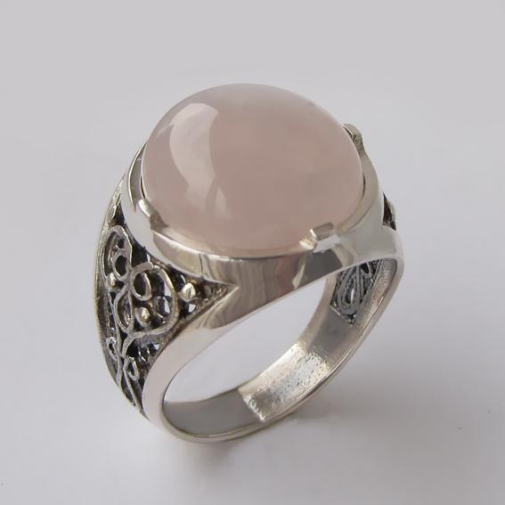 Кольцо с кварцем, арт.ПЕР315