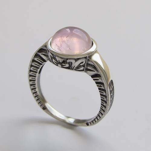 Кольцо с кварцем, арт. СКИФ3